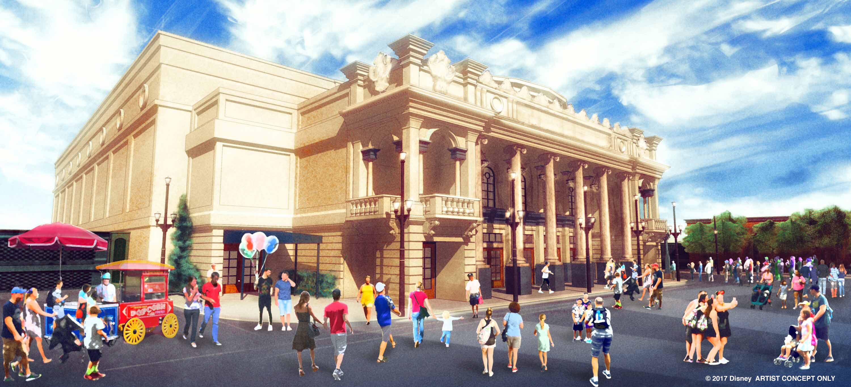 New Main Street U.S.A. theater concept art