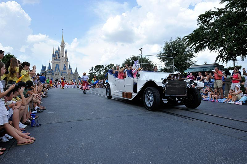 New Grand Marshal vehicle debuts in the Magic Kingdom