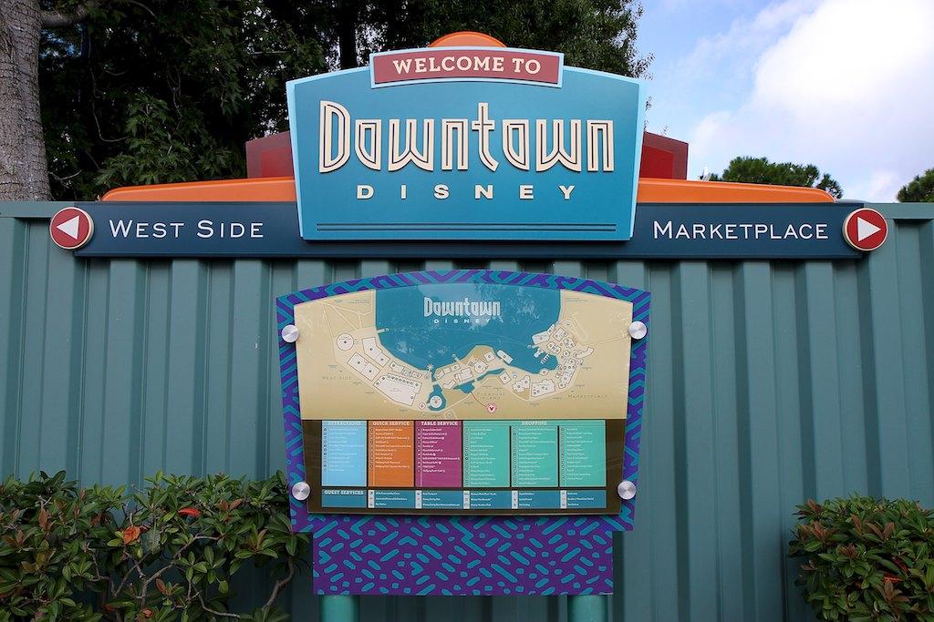 New Marketplace signage