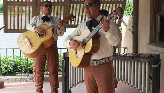 VIDEO - Mexican Marimba Trio now playing at Epcot's Mexico Pavilion