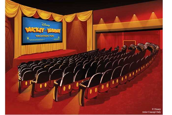 Mickey Shorts Theater concept art