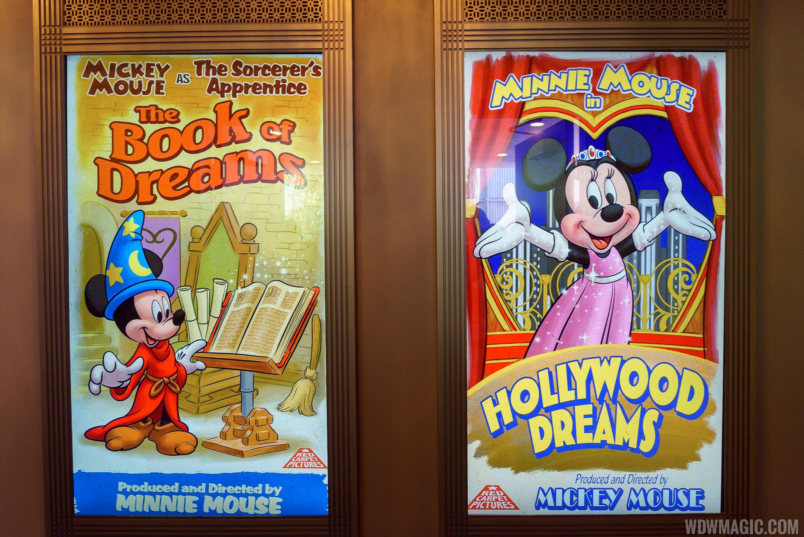 Mickey and Minnie Starring in Red Carpet Dreams posters