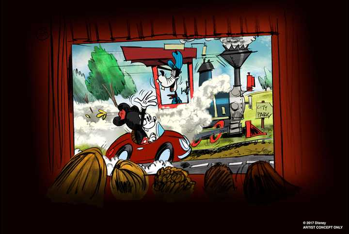 VIDEO - First look inside the upcoming Mickey and Minnie's Runaway Railway