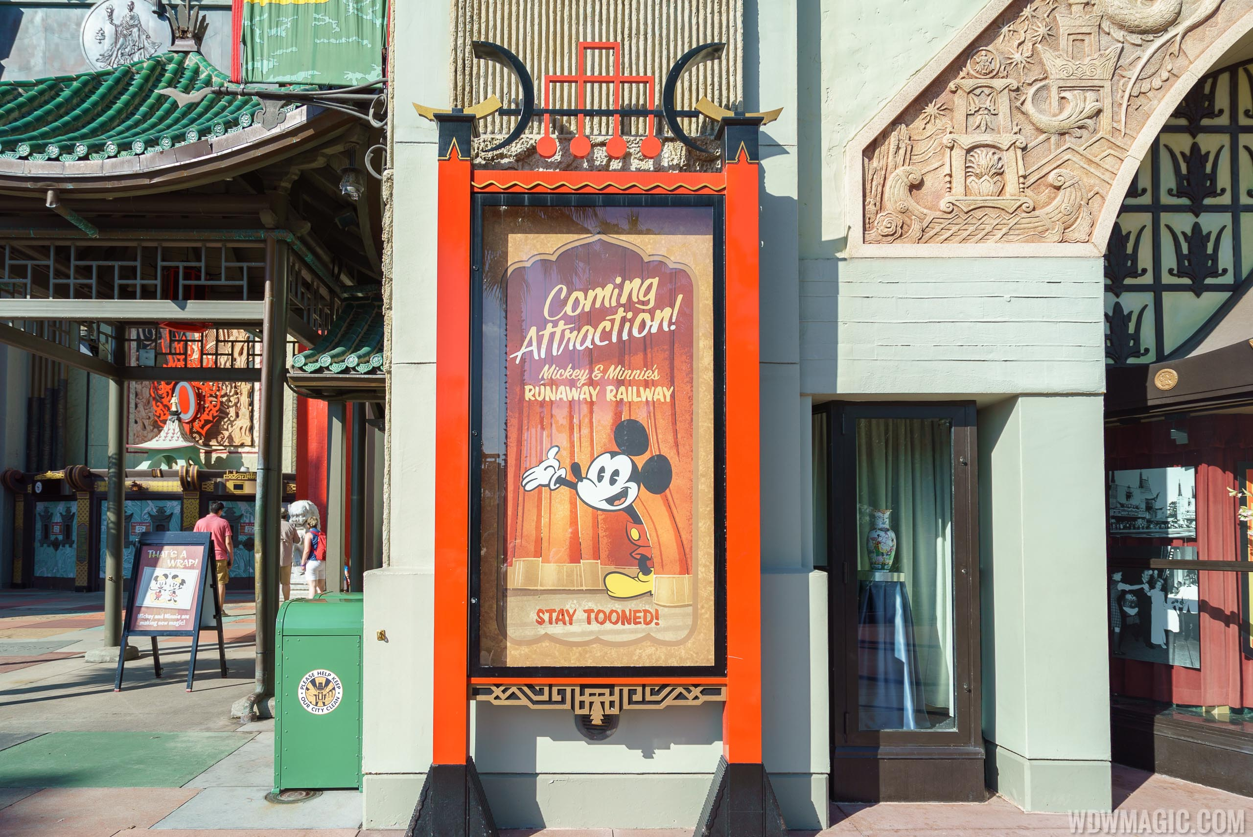 Mickey and Minnie's Runaway Railway Poster