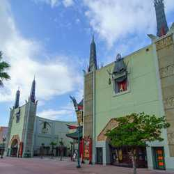 The Great Movie Ride signs removed from the Chinese Theater