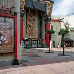 Walls down at the Chinese Theater