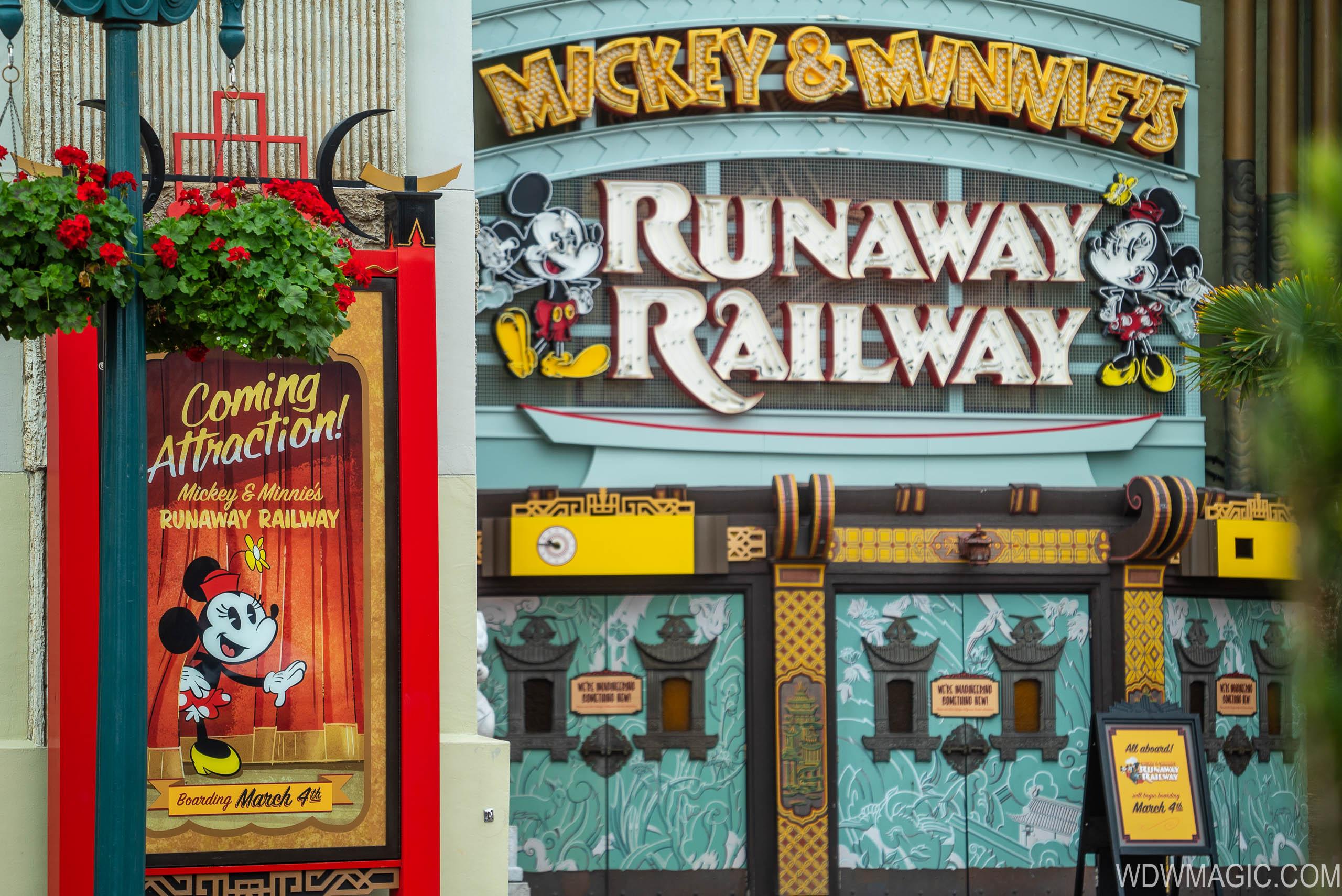 Mickey and Minnie's Runaway Railway News