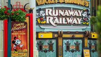 New video of Mickey and Minnie's Runaway Railway reveals more details