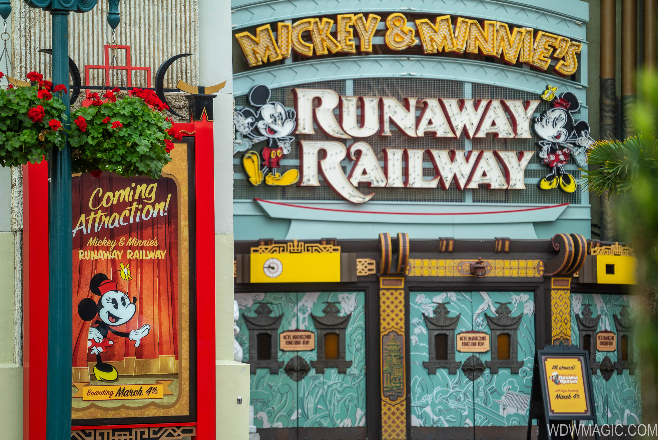 First ride impressions of Mickey and Minnie's Runaway Railway
