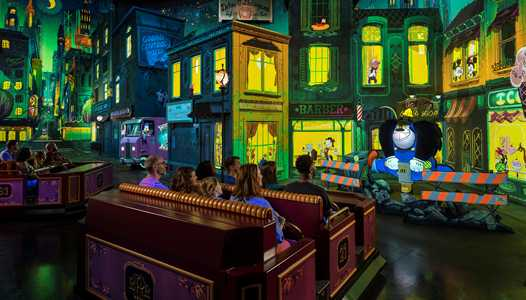 PHOTOS - First detailed look inside Mickey and Minnie's Runaway Railway