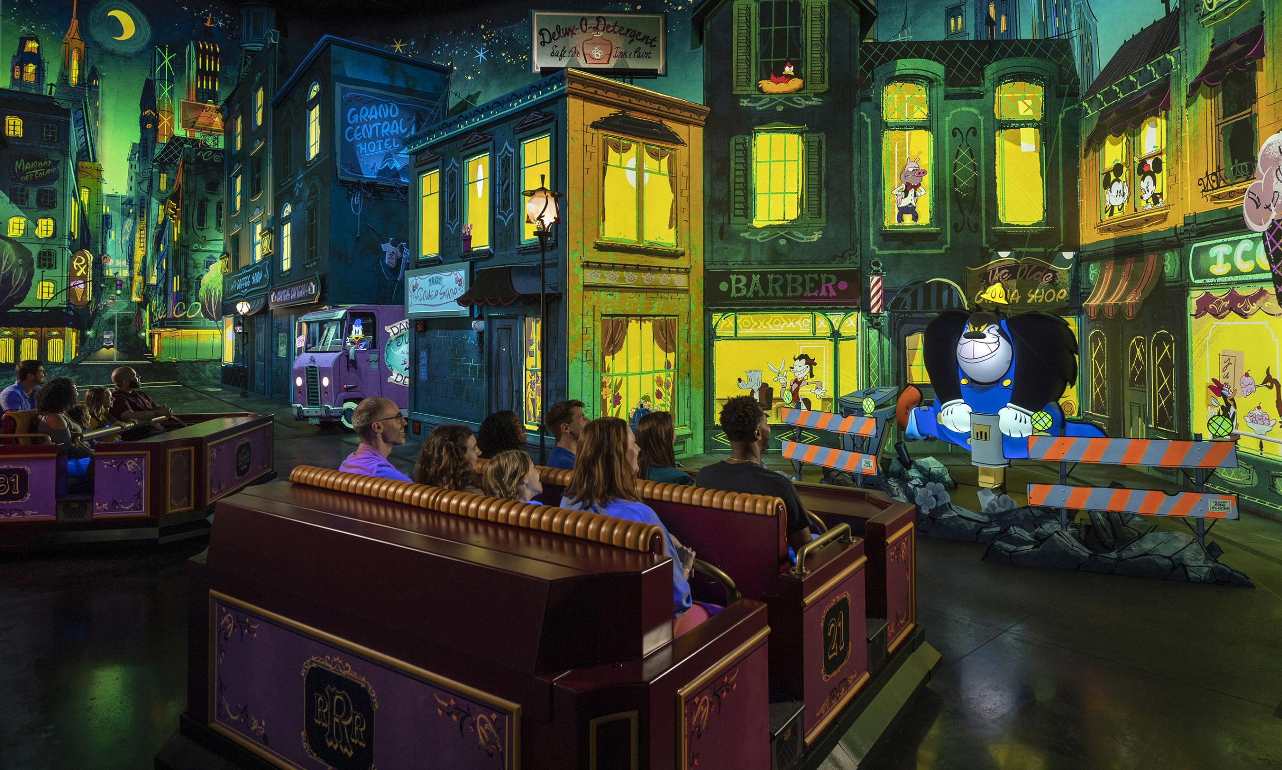 Inside Mickey and Minnie's Runaway Railway
