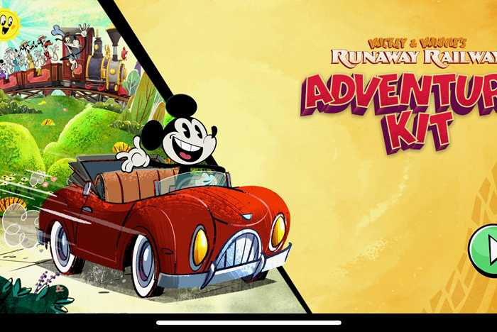 Mickey and Minnie's Runaway Railway Adventure Kit
