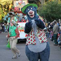 Mickey's Jingle Jungle Parade 2009