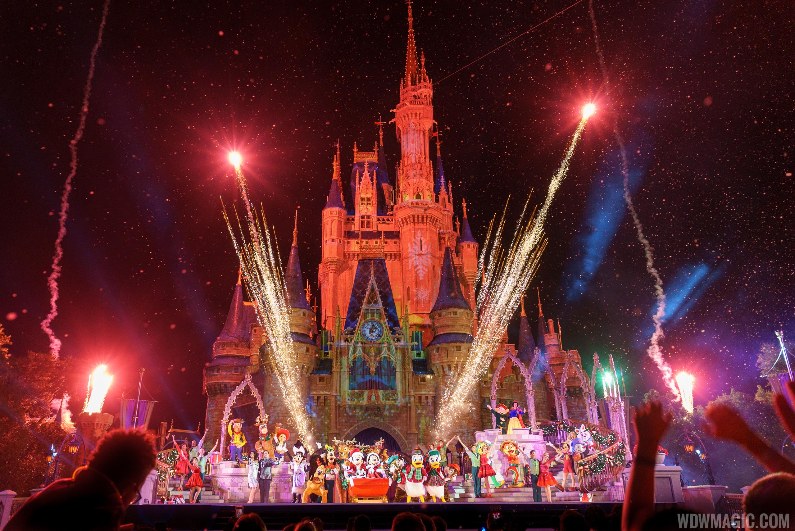 mickeys most merriest celebration show - On This Night On This Very Christmas Night