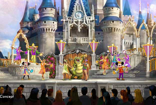 Mickey's Royal Friendship Fair concept art