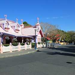 Overview of Mickey's Toontown Fair