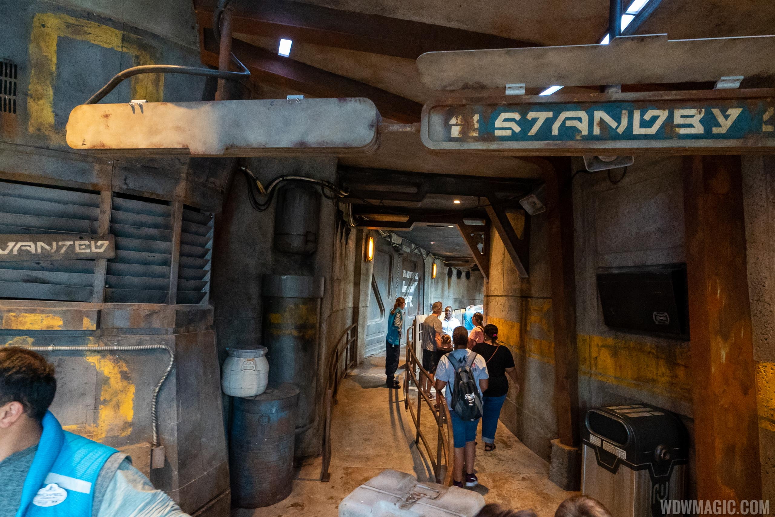 The standby line entrance to Millennium Falcon Smugglers Run
