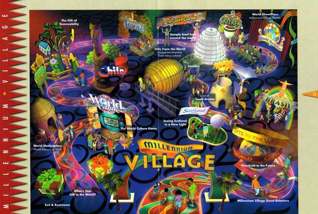 Map of the Millennium Village