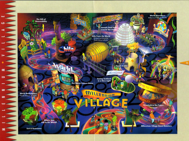 Map of the Millennium Village