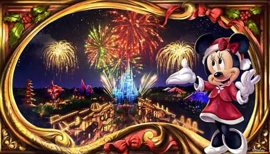 VIDEO - Minnie's Wonderful Christmastime Fireworks from Mickey's Very Merry Christmas Party