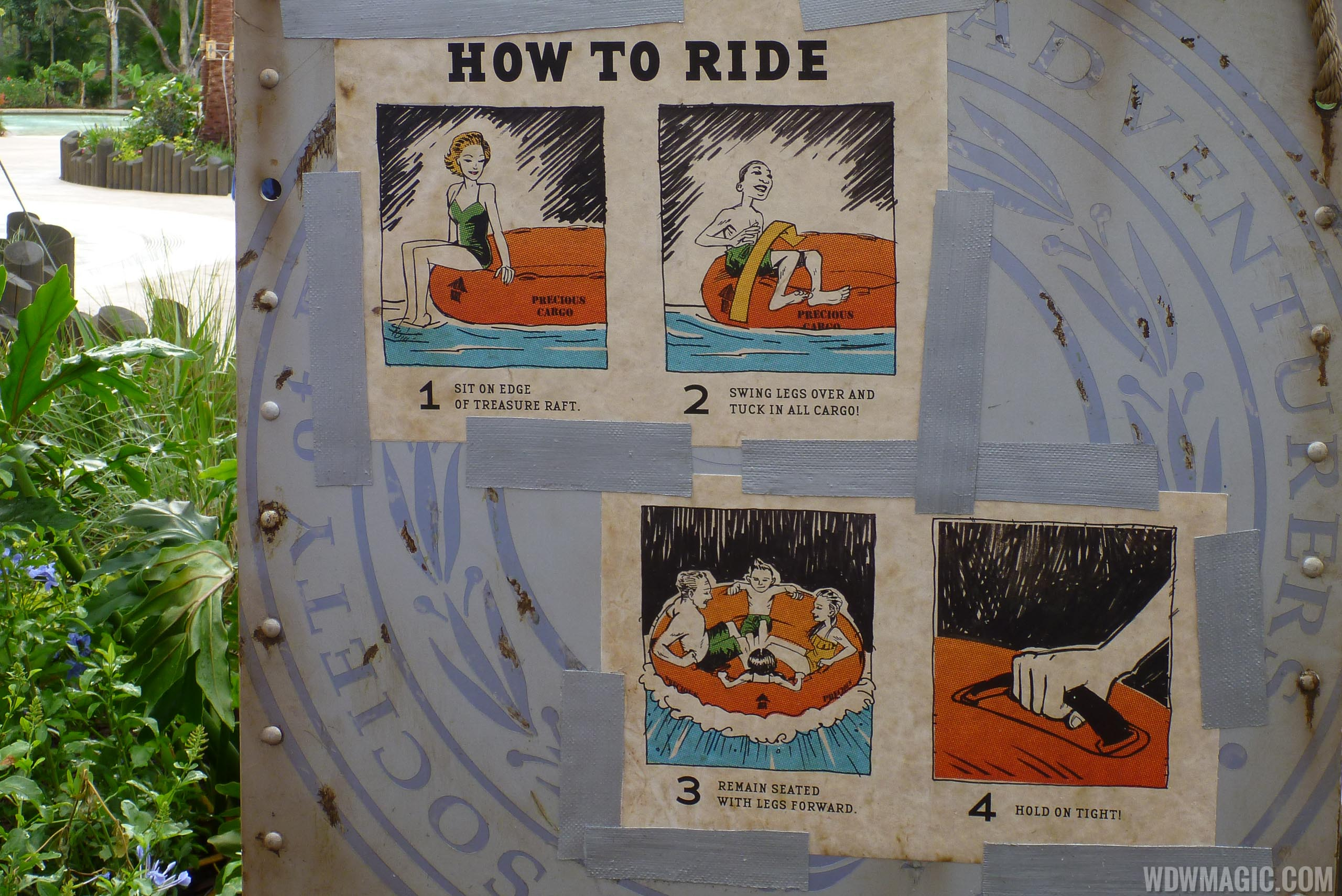 How to ride Miss Adventure Falls