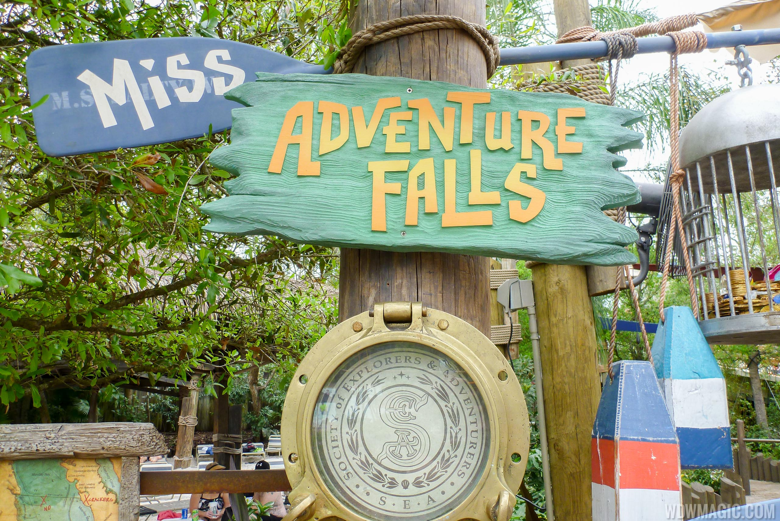 Miss Adventure Falls is the newest attraction at Typhoon Lagoon