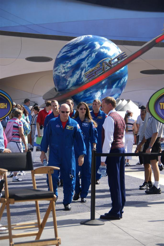 NASA astronaut visit