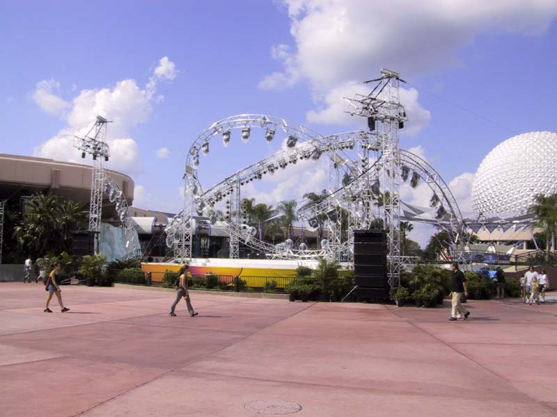 Preparations for the grand opening event