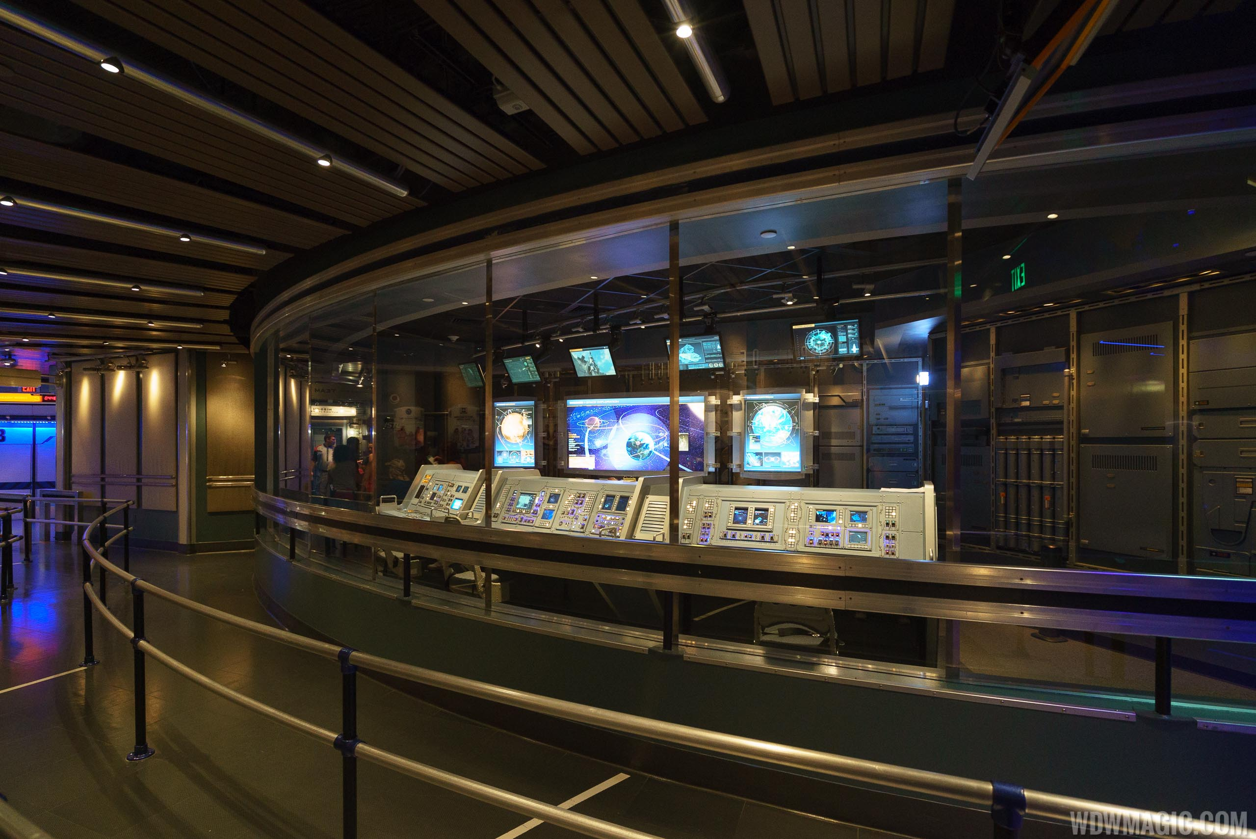 Mission SPACE queue area