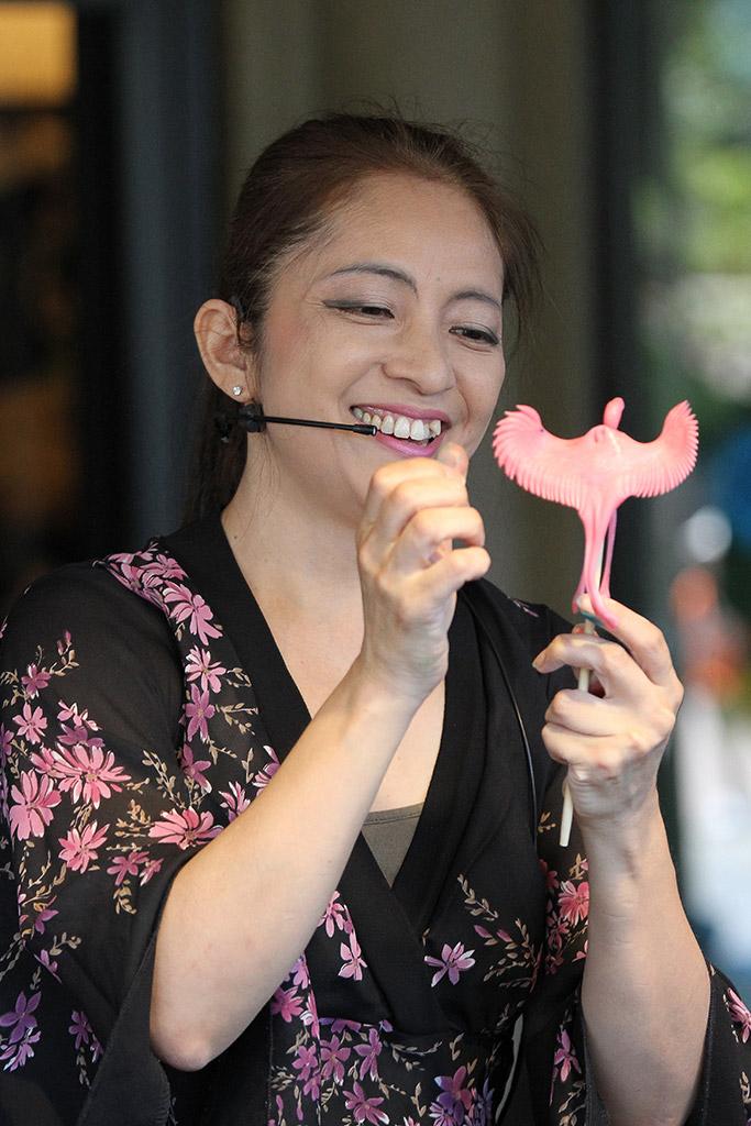 Miyuki at Epcot's Japan Pavilion