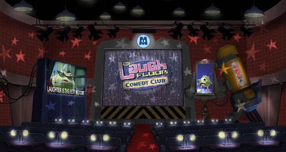 The Laugh Floor Comedy Club concept art