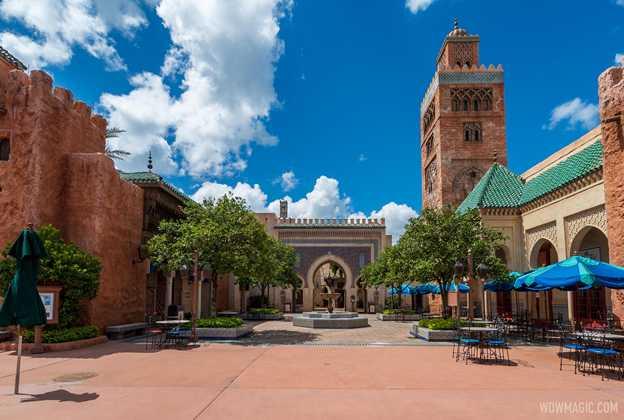 EPCOT Morocco Pavilion overview