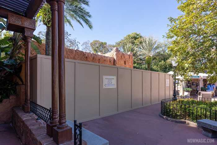 Morocco Pavilion restrooms refurbishment - January 18 2021