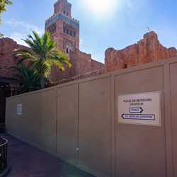 Morocco Pavilion restrooms refurbishment - January 18 2021