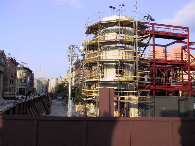 New York Street refurbishment