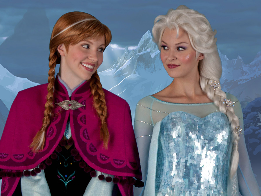 Frozen meet and greet at Epcot