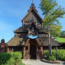 Stave Church Norsk Kultur - Inspiration for Disney Frozen