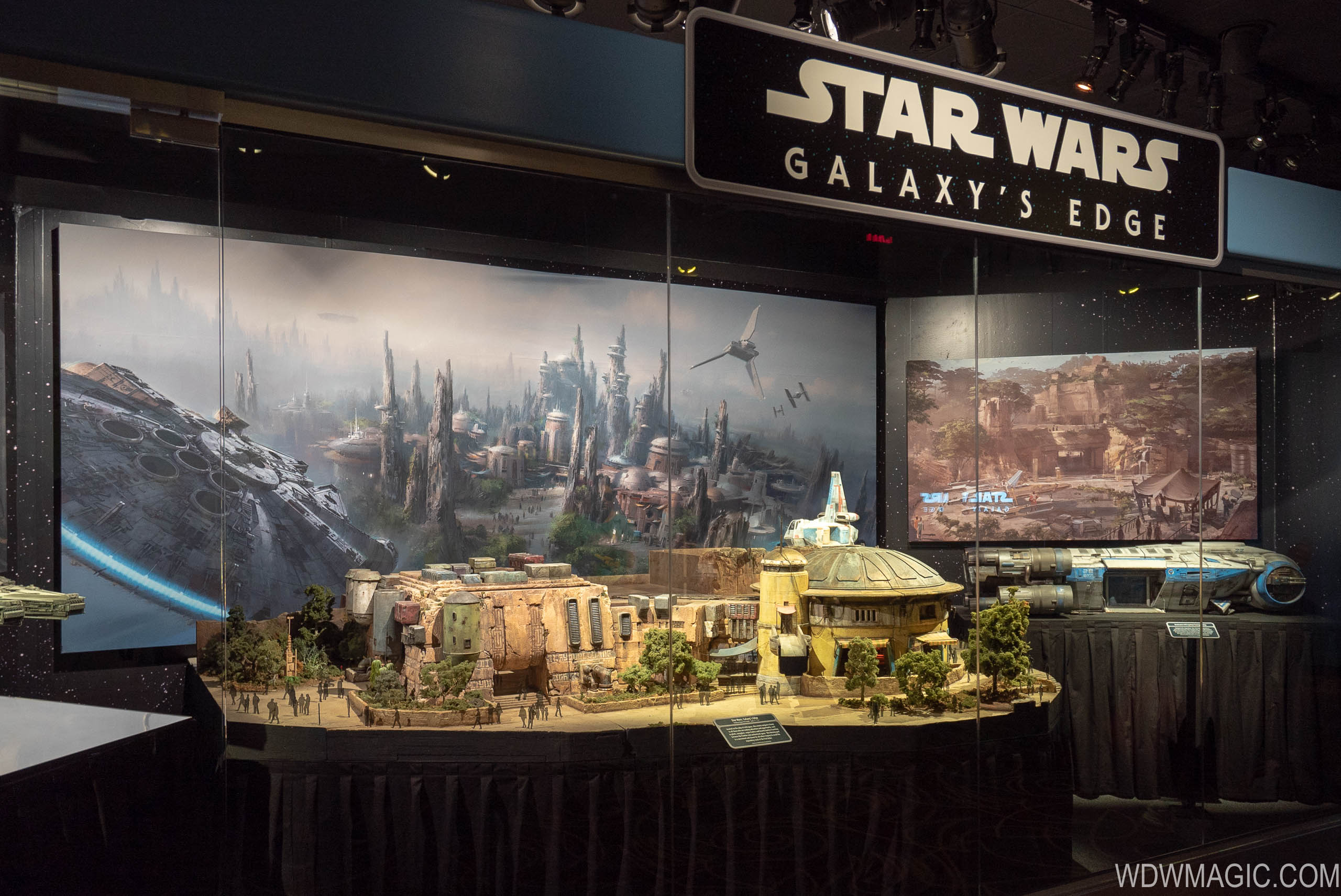 Star Wars Galaxy's Edge model updates