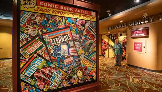 PHOTOS - Jack Kirby's Cosmic Series opens in updated Walt Disney Presents at Disney's Hollywood Studios