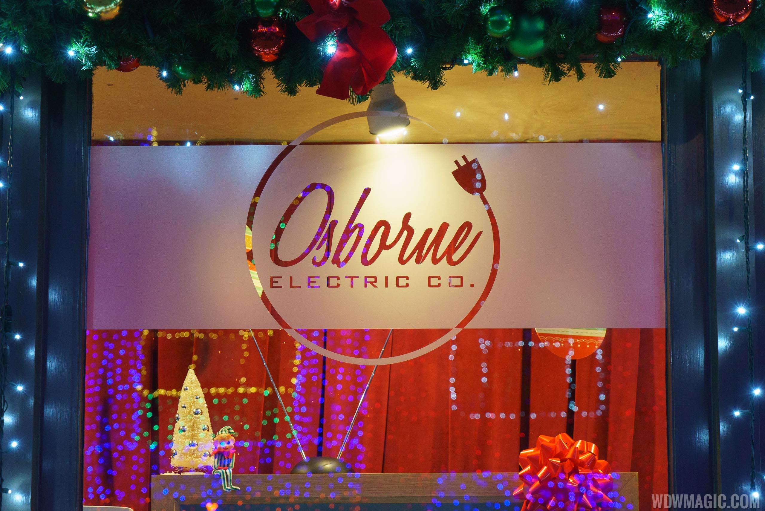 Osborne Electric Co. window display