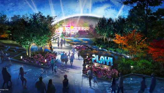 PHOTO - More details announced for Epcot's PLAY! Pavilion