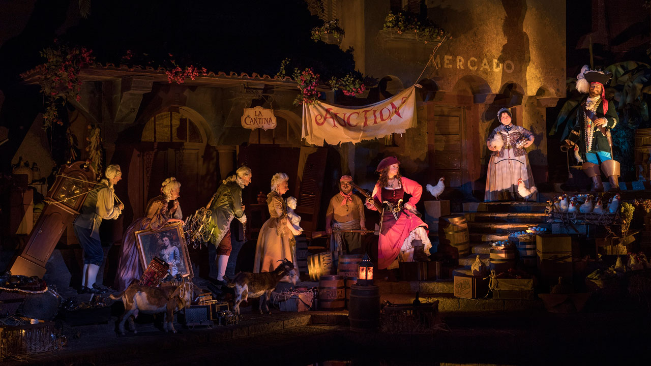 New Pirates of the Caribbean auction scene