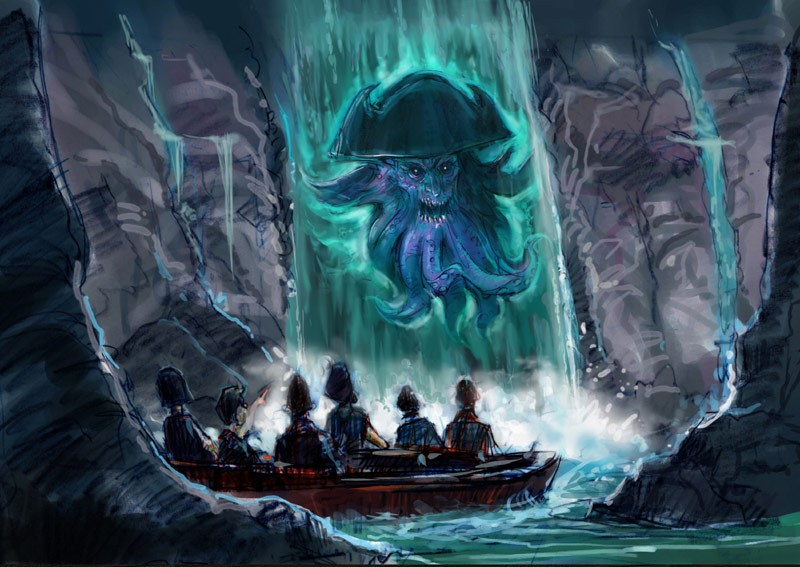 More new Pirates of the Caribbean concept art