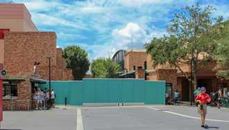 PHOTO - Pixar Place now closed to guests and walled-off