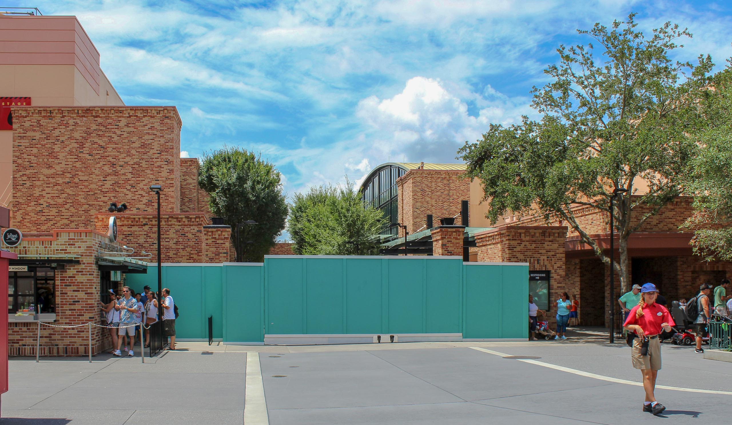 Pixar Place closed Photo by @WDWtraveler