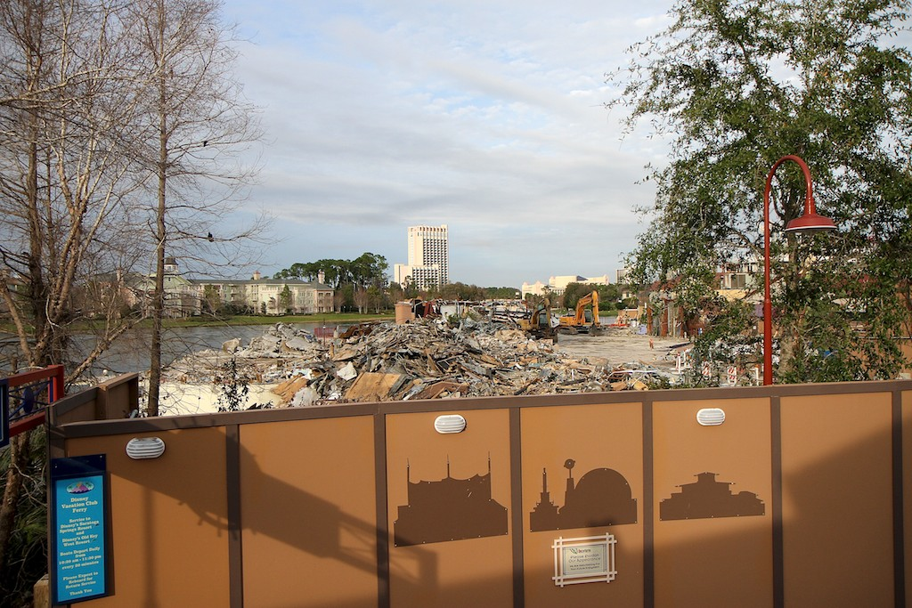 Demolition on this site back in 2011
