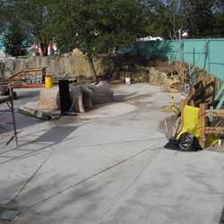 Pooh themed play area construction update