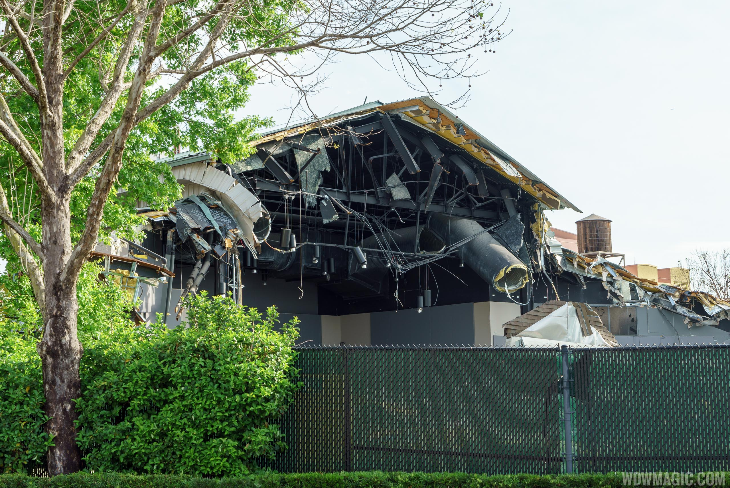 Premiere Theater demolition