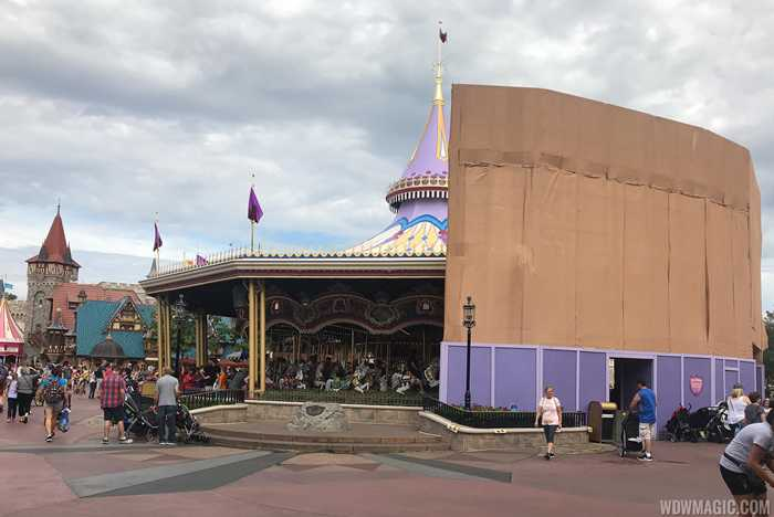 Prince Charming Regal Carrousel refurbishment