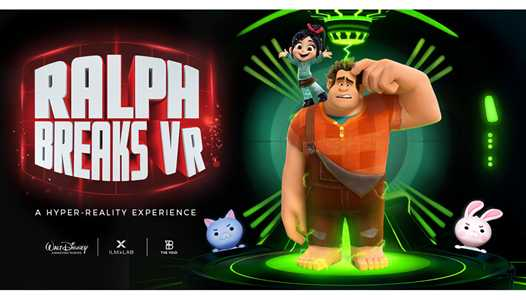 Ralph Breaks VR opens November 21 at Disney Springs in The VOID